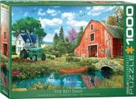 The Red Barn - 1000 Pieces |Yorkshire Jigsaw Store